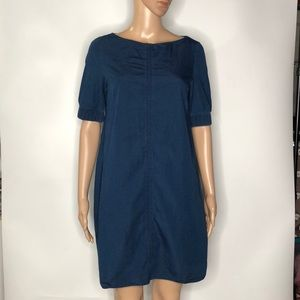 COS Chambray Shift Dress Size EUR 36/ US 6